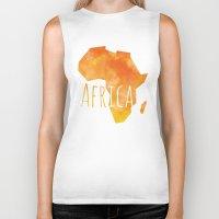 africa Biker Tanks featuring Africa by Stephanie Wittenburg
