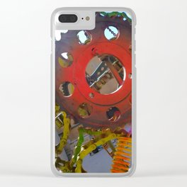 This is Your Brain on Art Clear iPhone Case