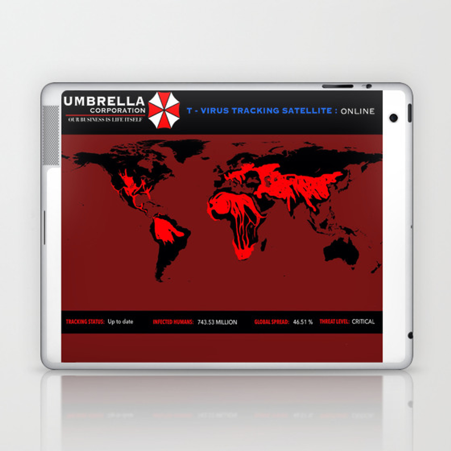 Virus Threat Ipad