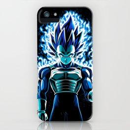 Ultra Blue God iPhone Case