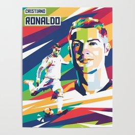 Illustration Cristiano Poster