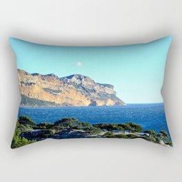 Calanques View Rectangular Pillow