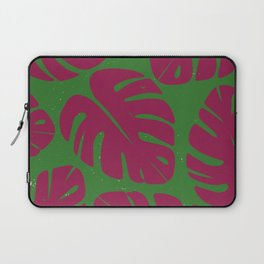 Monstera Leaf Print 4 Laptop Sleeve