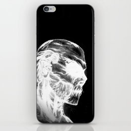 Azael Death Skull iPhone Skin