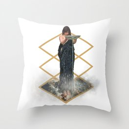 The Well Of Stars Throw Pillow
