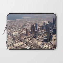 Dubai Burj Khalifa view - Ellie Wen Laptop Sleeve