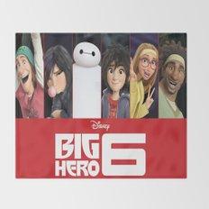 big hero 6 Throw Blanket