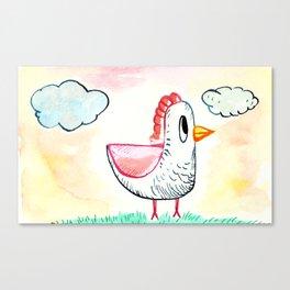 Little Chicken Canvas Print
