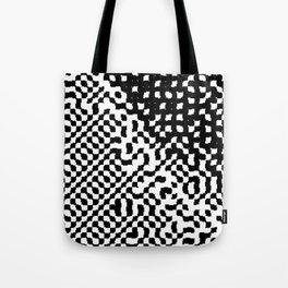 noisy pattern 12 Tote Bag