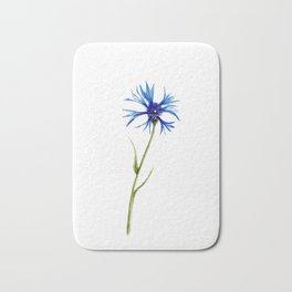 Simple Cornflower Bath Mat