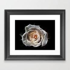 Rose of Light Framed Art Print