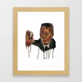 Christopher Walken as Captain Koons Framed Art Print