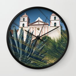 Old Mission, Santa Barbara Wall Clock