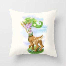 Chibi Lunara  Throw Pillow