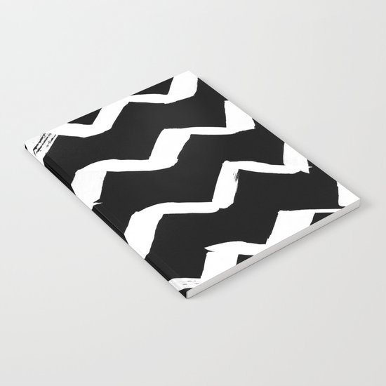 Ink Chevron(invert) Notebook