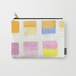 Watercolor Washes Carry-All Pouch