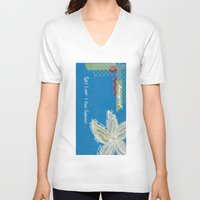 starfish V-neck T-shirts featuring Starfish  by Julie M Studios