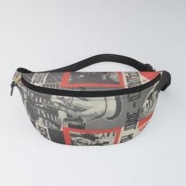 czechoslovakia, Close ties with working masses - pledge of the Red Army's power... Fanny Pack