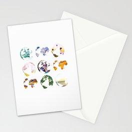Globes Stationery Cards