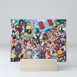 Anime All v4 Mini Art Print