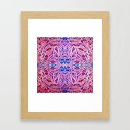 Pink in the Flesh Framed Art Print