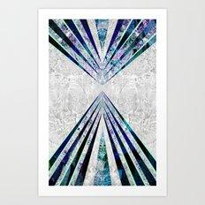 GEO BURST III Art Print