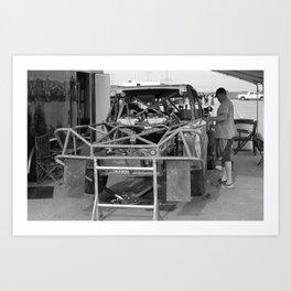 Track Noir TORC #3 Art Print