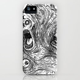 HELL'S ZODIAC - GEMINI iPhone Case