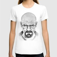 walter white T-shirts featuring Walter White by 13 Styx
