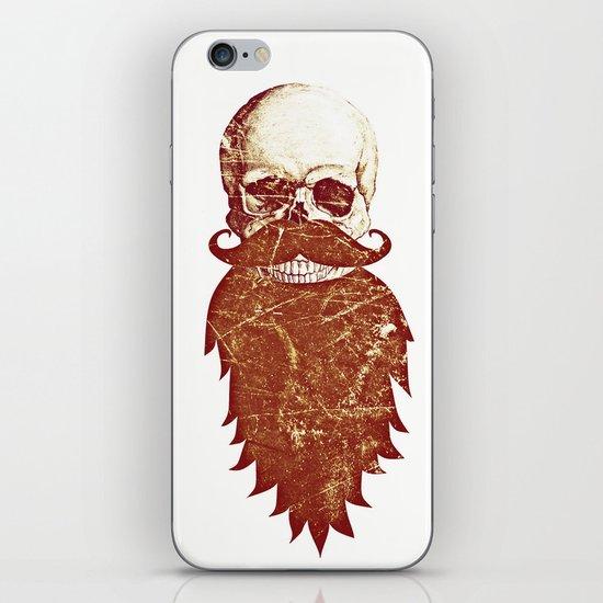 Beard Skull 2 iPhone & iPod Skin