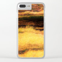 Fields Of... Clear iPhone Case