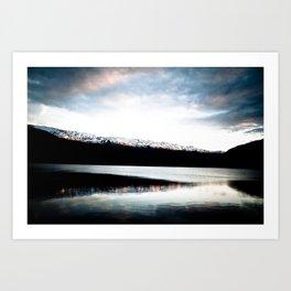 Voss, Norway Art Print
