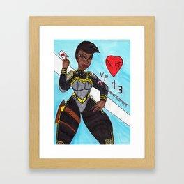 Helen Framed Art Print