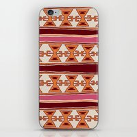 cleveland iPhone & iPod Skins featuring Cleveland by Little Brave Heart Shop