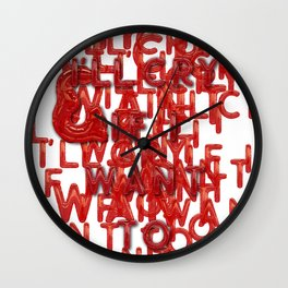 It's my Party - 2 Wall Clock