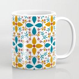 Norwegian Floral Coffee Mug