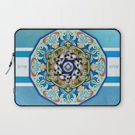 Mandala Shalom Laptop Sleeve