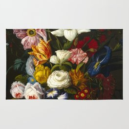 Victorian Bouquet by Severin Roesen Rug