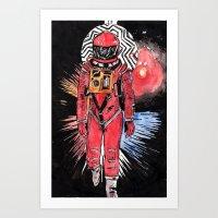 stargate Art Prints featuring Stargate by Dave Zissou