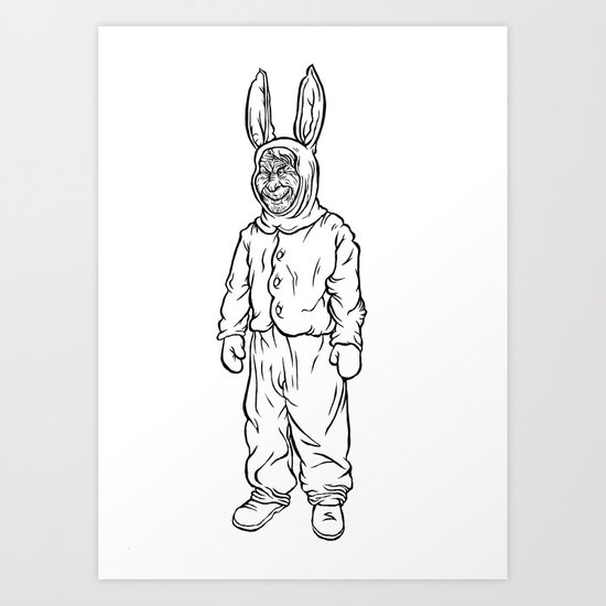 Rotten rabbit Art Print