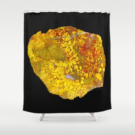 Fancy Jasper Shower Curtain