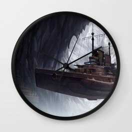 Northern Base Wall Clock