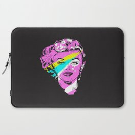 Marilyn Rainbow Pop Laptop Sleeve
