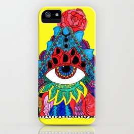 All Seeing, Complete Being iPhone Case