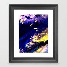 Abstract Midnight Dancer by Robert S. Lee  Framed Art Print