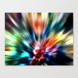 Burst of Colors Canvas Print