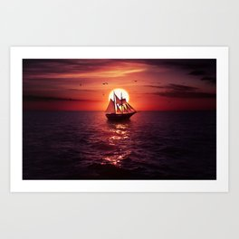 Sea of Thieves Art Print