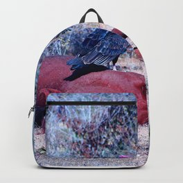 Sleeping Horse with birds Backpack