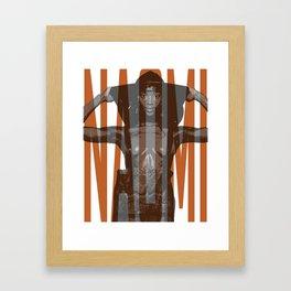 Beauty Naomi Framed Art Print