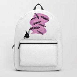 Comic Style- Cute Bunny crunch Backpack
